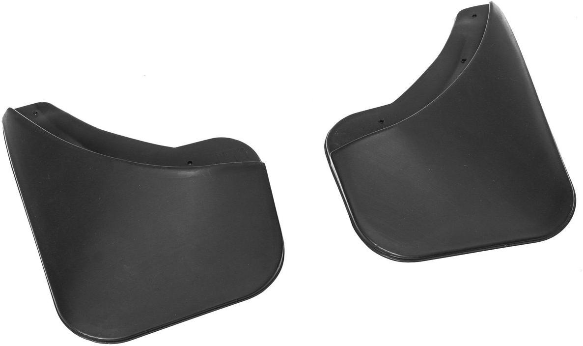Комплект задних брызговиков Rival, для Renault Sandero 2014-, 2 шт24703001Брызговики Rival защищают покрытие автомобиля от грязи, мусора и посторонних предметов, летящих из-под колес вашего автомобиля во время движения.- Брызговики изготовлены из высококачественного, нетоксичного и экологичного материала, что делает их стойкими к перепадам температур, а также придает эластичность.- Отлично вписываются во внешний облик автомобиля, выглядят как естественное продолжение колесной арки.- Надежно фиксируются в штатные технологические отверстия.В комплекте крепления и инструкция по установке.Уважаемые клиенты! Обращаем ваше внимание, что брызговики имеют форму, соответствующую модели данного автомобиля. Фото служит для визуального восприятия товара.