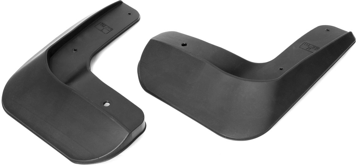 Комплект передних брызговиков  Rival , для Volkswagen Jetta, 2015-, полиуретан, крепеж, 2 шт. 25802001 - Тюнинг и защита - Брызговики