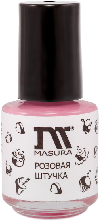 Masura Жидкая лента Розовая штучка, 3,5 мл диск для цветного стемпинга q31