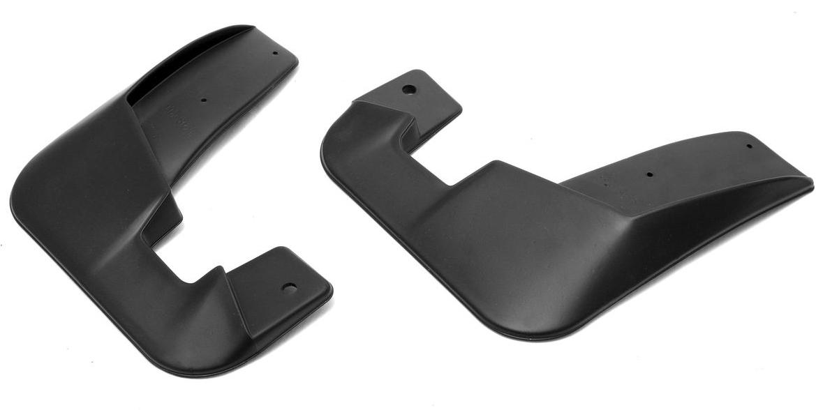 Комплект передних брызговиков  Rival , для Renault Kaptur 2016-, 2 шт - Тюнинг и защита - Брызговики