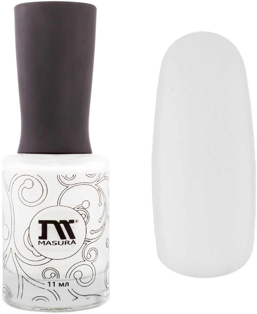 Masura База Белый кварц (белая), 11 мл904-108белый эмалевый цветКак ухаживать за ногтями: советы эксперта. Статья OZON Гид