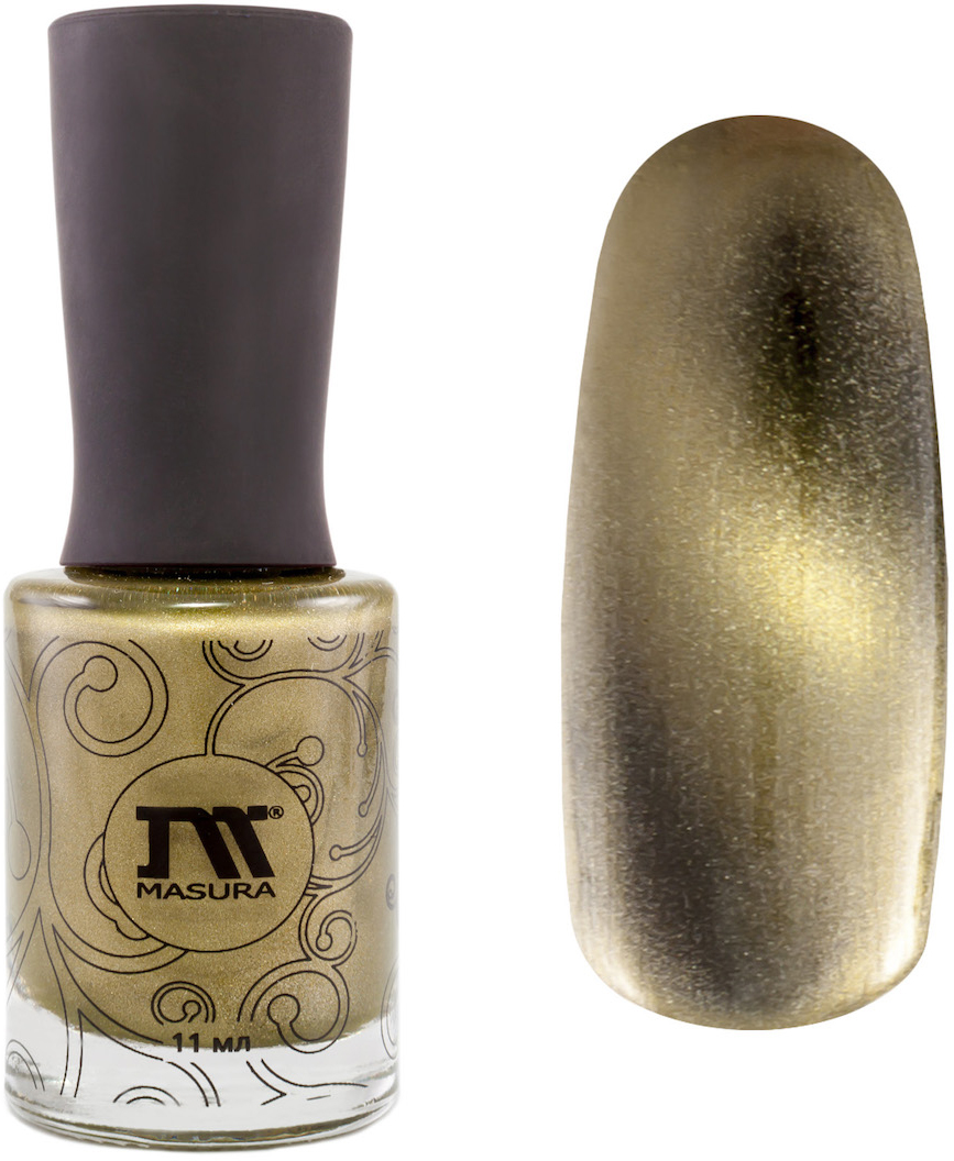 Masura Лак для ногтей Золотой авантюрин, 11 мл904-111оливковыйКак ухаживать за ногтями: советы эксперта. Статья OZON Гид