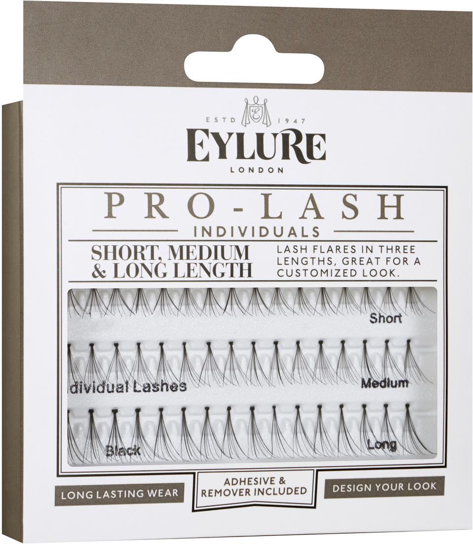 Eylure Индивидуальные пучки для наращивания Individual Lashes -Individuals PRO-LASH Combo тушь для ресниц artdeco art couture lash designer