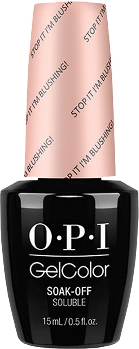 OPI Гель-лак GelColor Stop I am Blushing, 15 мл opi gelcolor гель лак i sea you wear opi gca73