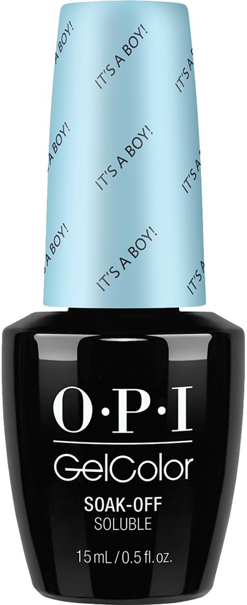 OPI Гель-лак GelColor It's a Boy!, 15 мл opi gelcolor гель лак i sea you wear opi gca73