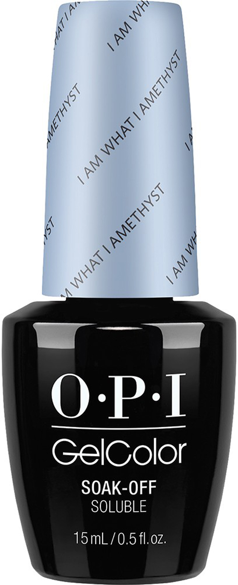 OPI Гель-лак GelColor I am What I Amethyst, 15 мл opi gelcolor гель лак i sea you wear opi gca73