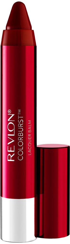 Revlon Бальзам для Губ Colorburst Lacquer Balm Enticing 150 17 г7210524050Colorburst Lacquer Balm - бальзам для губ в форме карандаша. Суперблестящий глянцевый эффект. В формуле продукта присутствует перечная мята, которая дает легкий дренажный эффект.Аккуратно нанести на губы