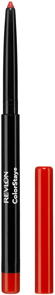 Revlon Карандаш для Губ Colorstay Lip Liner Red 20 5 г7212706020Контурный карандаш для губ ColorStay™ создан на основе уникальной технологии SoftFlex™, которая предупреждает растекание или смазывание губной помады. Карандаш обладает мягкой текстурой и позволяет быстро прорисовать желаемый контур. В корпусе карандаша встроена точилка.Наносить на контур губ или растушевывать по всей поверхности губ