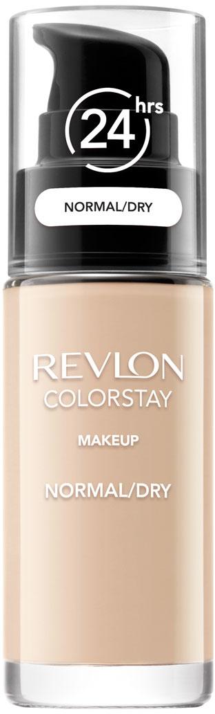 Revlon Тональный Крем для Норм-Сух Кожи Colorstay Makeup For Normal-Dry Skin Ivory 110 30 мл7221553001Colorstay - легендарная коллекция тональных средств, выбор ведущих визажистов во всем мире! Colorstay Make Up For Normal / Dry Skin - тональный крем с удивительно легкой текстурой идеально выравнивает тон и рельеф кожи, обеспечивая ей при этом должный уровень увлажнения. Colorstay™ дарит коже приятную матовость, сохраняет макияж безупречным надолго - гарантированная стойкость в течение 24 часов! Предназначен для сухой и нормальной кожи.Наносите крем легкими разглаживающими движениями от центра к контурам с помощью кисти или пальцев, затем растушуйте на границе нанесения: у линии роста волос, в области шеи и ушей.