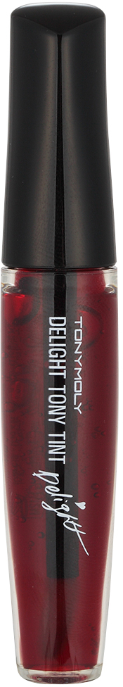 TonyMoly Тинт для губ Delight Tony Tint 01 Cherry Pink, 9 мл tony moly помада блеск тинт для губ тон 06