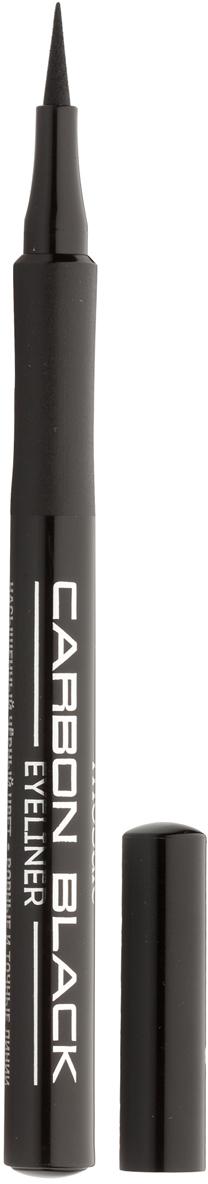 Eva Mosaic Подводка-фломастер для глаз Carbon Black , 1 мл, Черная220550Удобная подводка в форме фломастера - четкая линия одним движением! - легко и четко наносится, не стирается и не размазывается - универсальный глубокий черный цвет