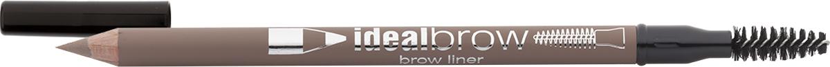 Eva Mosaic Карандаш для бровей Ideal Brow, 1,2 г, Анютины Глазки тушь для бровей eva mosaic ideal brow 5 5 мл светло коричневая