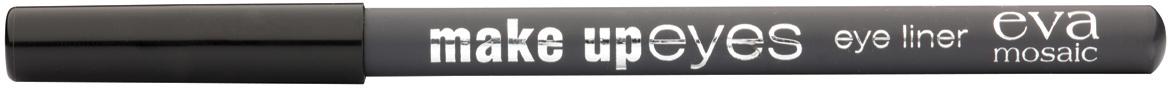 Eva Mosaic Карандаш для глаз Make Up Eyes, 1,1 г, Серый685177Мягкий карандаш для глаз позволяет создавать контур необходимой четкости - от графической точности до мягкой плавности растушеванных линий, придающих взгляду эффект дымчатости. - стойкая формула - натуральные ингредиенты (пчелиный воск, хлопковое, касторовое и арахисовое масла) - три оттенка для разных типов внешности