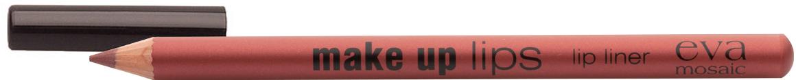 Eva Mosaic Карандаш для объема губ Make Up Lips, 1,1 г, Вишня685269Мягкий карандаш для губ создает четкий контур и подчеркивает цвет помады- комфортно наносится- содержит воски и питательные вещества для дополнительного ухода- не стирается и не размазывается в течение дня