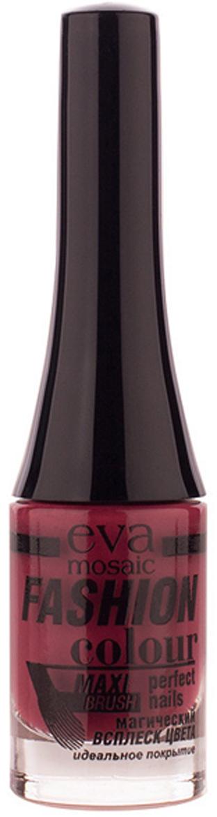 Eva Mosaic Лак для ногтей Fashion Colour, 6 мл, 111 Вишневый Джем лаки для ногтей poetea лак для ногтей поетеа
