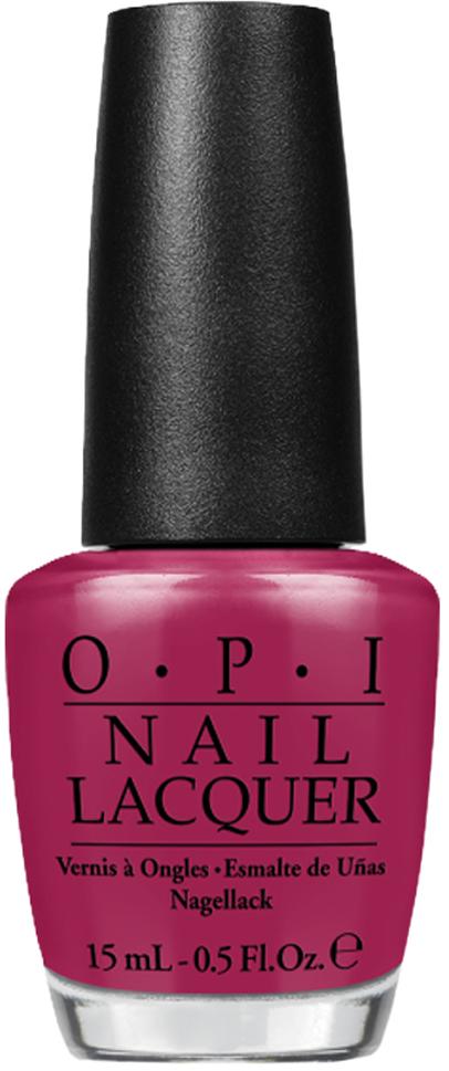 OPI Лак для ногтей Miami Beet, 15 млNLB78Лак для ногтей OPI быстросохнущий, содержит натуральный шелк и аминокислоты. Увлажняет и ухаживает за ногтями. Форма флакона, колпачка и кисти специально разработаны для удобного использования и запатентованы.Как ухаживать за ногтями: советы эксперта. Статья OZON Гид