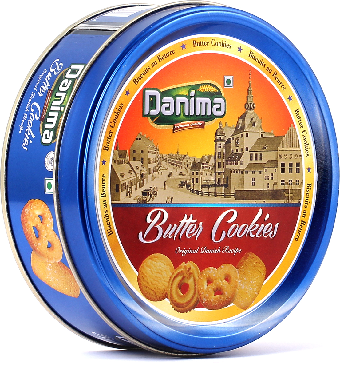 Danima сливочное индийское печенье, 114 г danima печенье ассорти с тмином и кокосовой стружкой 300 г