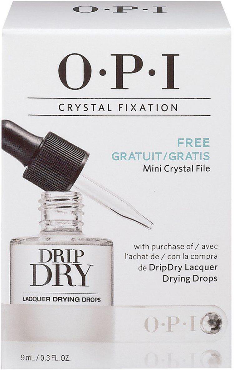 OPI Набор Crystal Fixation, AL714 15 мл + кристальная пилкаSRG81Набор Crystal FixationСостав: AL714 - Капли - сушка для лака 9 мл DripDry OPIВ подарок:Кристальная пилка (мини)Как ухаживать за ногтями: советы эксперта. Статья OZON Гид