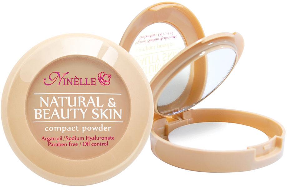 Ninelle Пудра компактная Natural & Beauty Skin № 3529101292078Устойчивая компактная пудраNatural & Beauty Skin обладает нежной, шелковистой текстурой и ложится на лицо, словно вторая кожа. Входящие в ее состав питательные, увлажняющие и защитные компоненты заботливо и интенсивно ухаживают за кожей и дарят ей ощущение комфорта.Пудра идеально выравнивает тон и текстуру кожи, скрывает недостатки, абсорбирует излишки жира. Теперь Вы можете быть уверены: Ваш макияж останется безупречным при любых испытаниях!