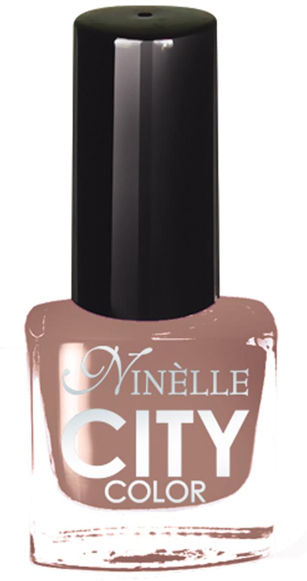 Ninelle Лак для ногтей City Color №1631110N10820Формула уникальна и безупречна: лак быстро сохнет, гарантирует идеальную цветопередачу и потрясающий блеск, а также непревзойденную стойкость. Лак для ногтей City color выравнивает поверхность ногтя, делая его идеально гладким и безупречно глянцевым. Высокая концентрация пигментов и новая кисть заметно упростили маникюрную процедуру - лаки теперь можно наносить одним слоем. Удобная кисточка поможет распределить лак быстро и с максимальной точностью, что позволяет равномерно нанести лак даже на короткие ногти. В состав входят ухаживающие компоненты, предотвращающие повреждения ногтей.Как ухаживать за ногтями: советы эксперта. Статья OZON Гид
