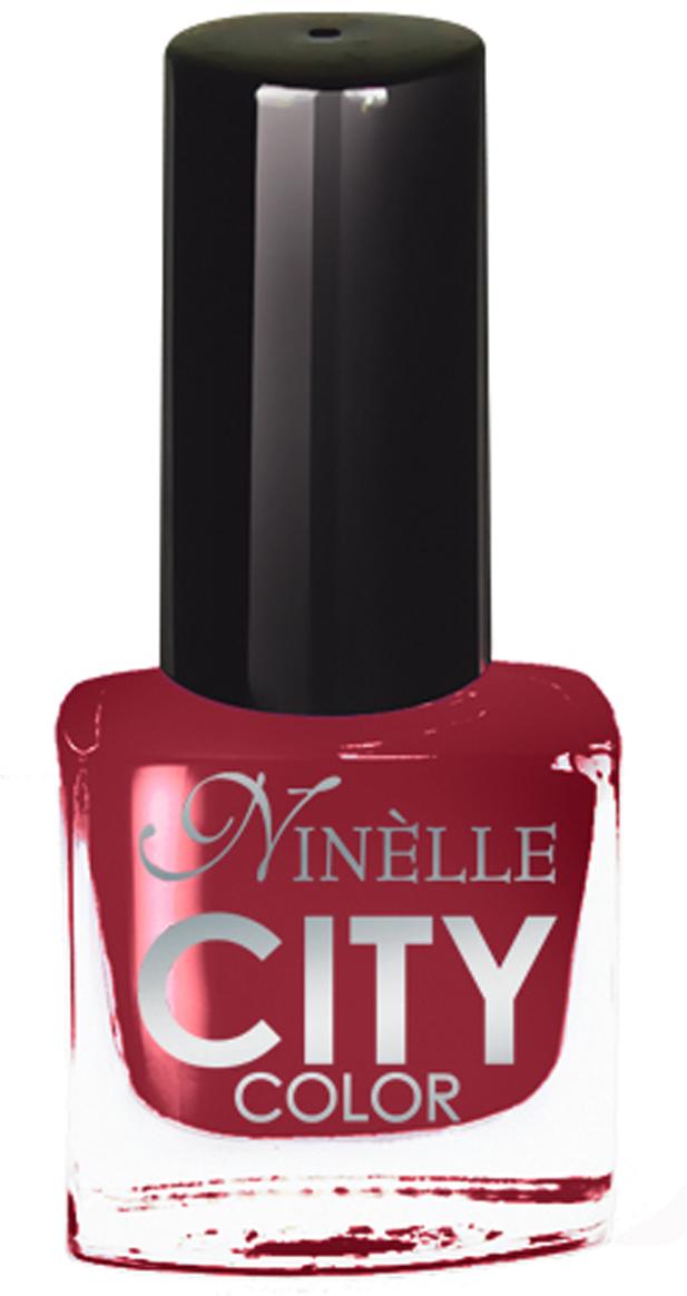 Ninelle Лак для ногтей City Color №1704751006756113Формула уникальна и безупречна: лак быстро сохнет, гарантирует идеальную цветопередачу и потрясающий блеск, а также непревзойденную стойкость. Лак для ногтей City color выравнивает поверхность ногтя, делая его идеально гладким и безупречно глянцевым. Высокая концентрация пигментов и новая кисть заметно упростили маникюрную процедуру - лаки теперь можно наносить одним слоем. Удобная кисточка поможет распределить лак быстро и с максимальной точностью, что позволяет равномерно нанести лак даже на короткие ногти. В состав входят ухаживающие компоненты, предотвращающие повреждения ногтей.Как ухаживать за ногтями: советы эксперта. Статья OZON Гид