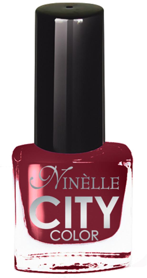 Ninelle Лак для ногтей City Color №1721119N10829Формула уникальна и безупречна: лак быстро сохнет, гарантирует идеальную цветопередачу и потрясающий блеск, а также непревзойденную стойкость. Лак для ногтей City color выравнивает поверхность ногтя, делая его идеально гладким и безупречно глянцевым. Высокая концентрация пигментов и новая кисть заметно упростили маникюрную процедуру - лаки теперь можно наносить одним слоем. Удобная кисточка поможет распределить лак быстро и с максимальной точностью, что позволяет равномерно нанести лак даже на короткие ногти. В состав входят ухаживающие компоненты, предотвращающие повреждения ногтей.Как ухаживать за ногтями: советы эксперта. Статья OZON Гид