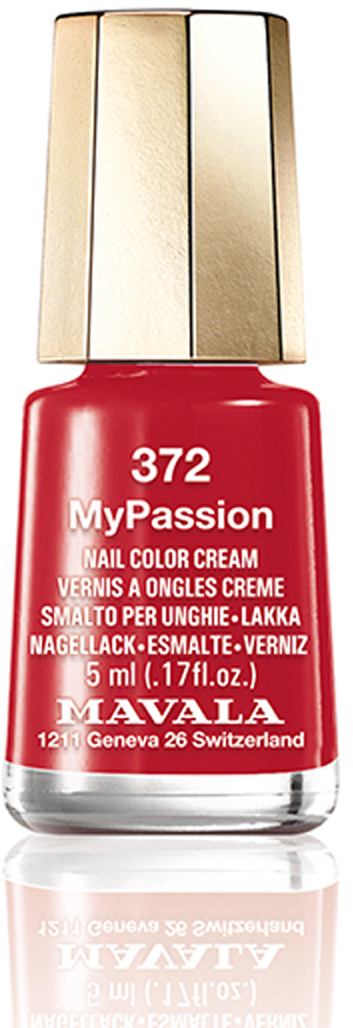 MAVALA Лак для ногтей My Passion, Тон 372, 5 мл mavala набор комплекс 3 mavala nail care 1 2 3 manicure a 11 072 1 шт