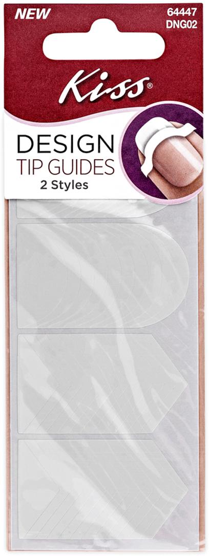 Kiss Трафареты для маникюра и педикюра Design Tip Guides DNG0214-1648Трафареты для маникюра Kiss позволяют создать огромное количество дизайнов, самый простейшие из них – дизайны в стиле Френч и Шеврон. С ними вы сможете нанести лак быстро и аккуратно. В набор входят 40 трафаретов; из них 18 шт. полукруглой формы для классического френча и 22 трафарета треугольной формы для дизайна Шеврон.Как ухаживать за ногтями: советы эксперта. Статья OZON Гид