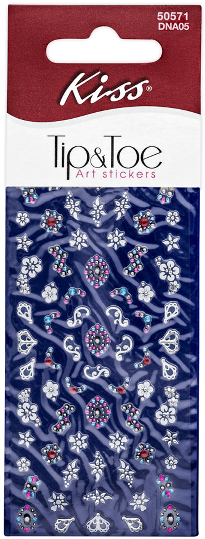 Фото - Kiss Набор стикеров для ногтей Nail Art Stickers Melon DNA05 стикеры для стен oem diy 49022 black vine wall stickers