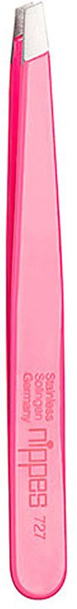 Nippes Пинцет розовый. 727 пинцеты nippes пинцет косметический остроконечный