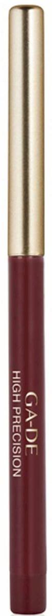 GA-DE Карандаш для губ High Precision, тон № 24, 0,28 г123300024Плотная восковая текстура. Перламутровые и матовые оттенки. Водоустойчив. На протяжении целого дня он превосходно сохраняет линию и цвет.
