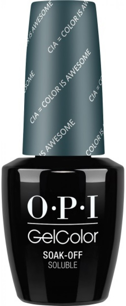 где купить OPI Гель-лак GelColor CIA Color Is Awesome, 15 мл дешево
