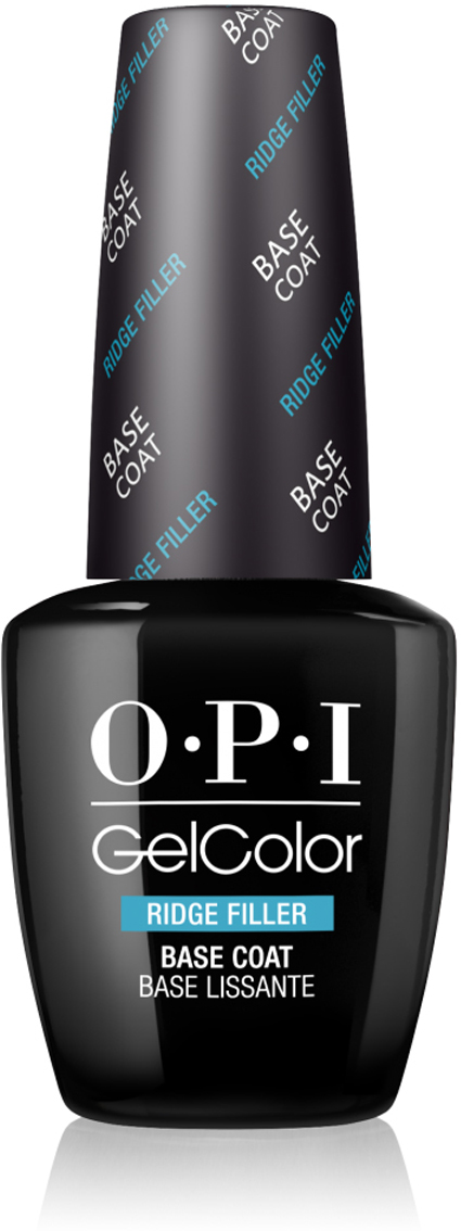OPI Выравнивающее базовое покрытие GelColor Ridge Filler Base Coat OPI, 15 мл opi gelcolor гель лак i sea you wear opi gca73