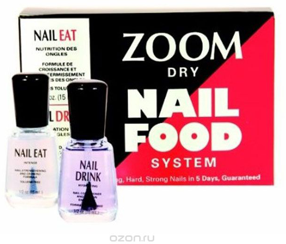 Zoya-Qtica Набор Zoom Nail Food SystemZMNF01