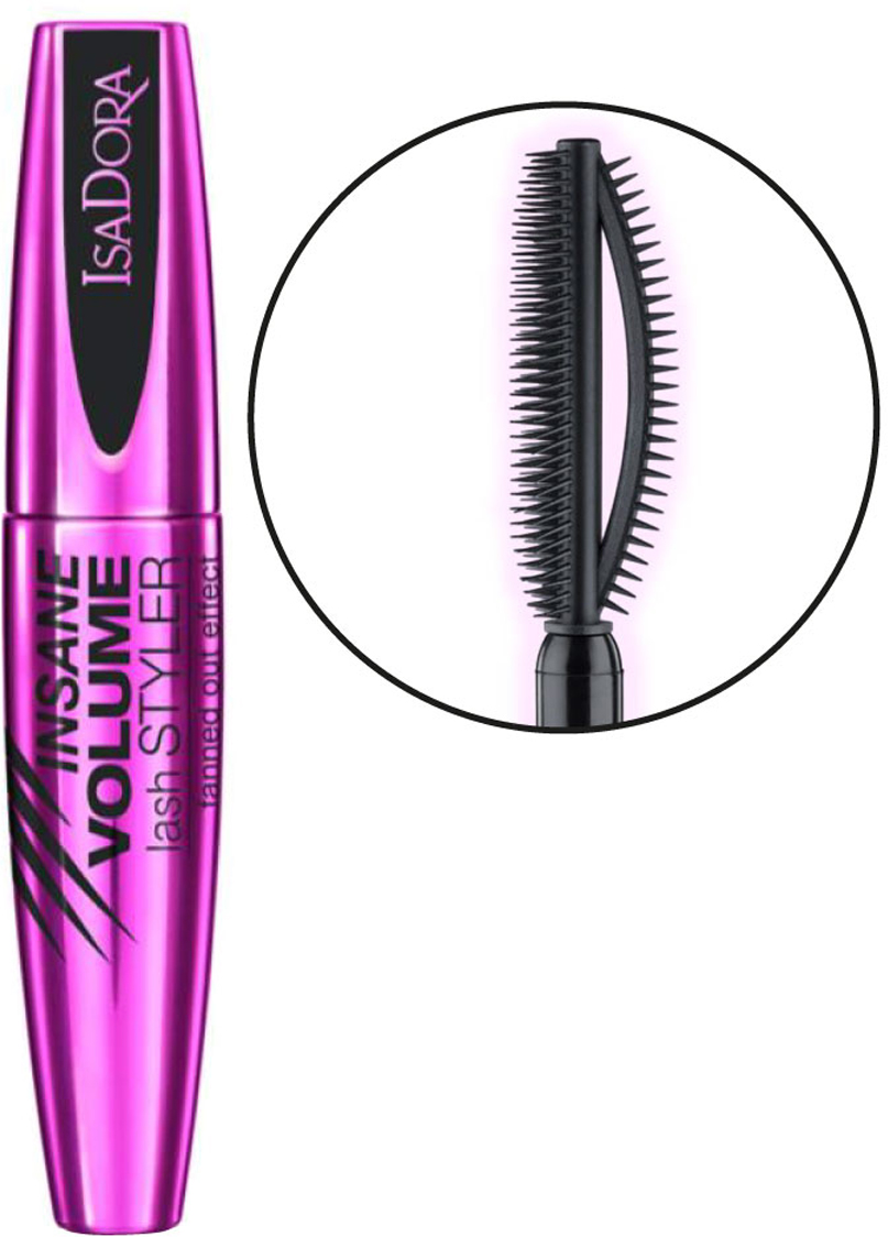 Isadora тушь для ресниц Insane volume lash styler 12мл