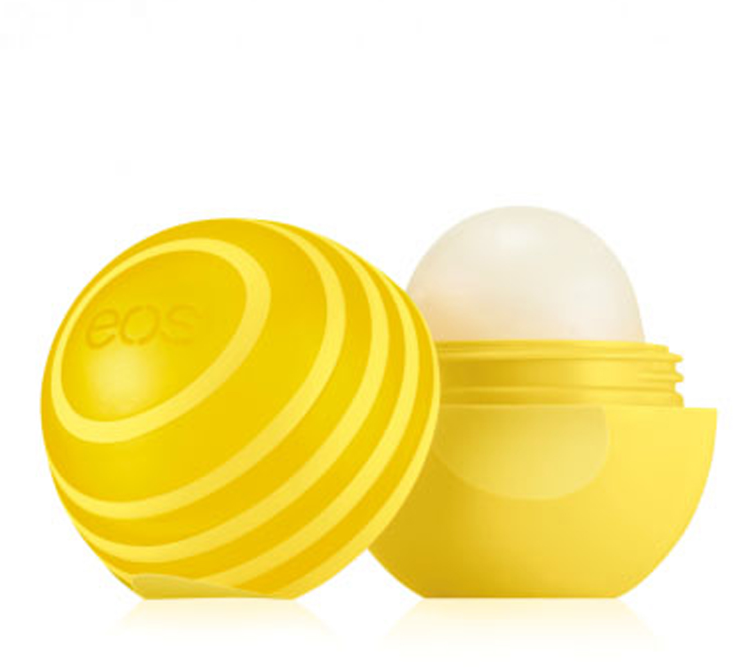EOS Бальзам для губ Active Protection Lip Balm Lemon Twist, 7 г vichy бальзам для губ aqualia thermal 4 7 мл бальзам для губ aqualia thermal 4 7 мл 4 7 мл