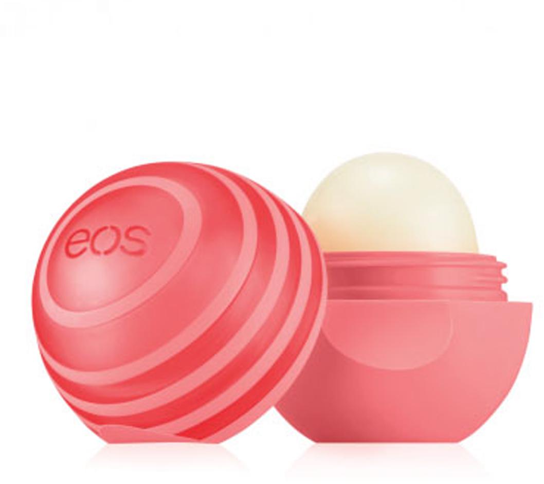 EOS Бальзам для губ Active Protection Lip Balm Pink Grapefruit, 7 г013146Натуральный бальзам для губ со вкусом розового грейпфрута в футляре из пластика (упакован на картонную подложку). SPF 30. Не содержит парабенов, глютена и продуктов нефтехимии. Применяется в косметических целях для увлажнения и питания губ.
