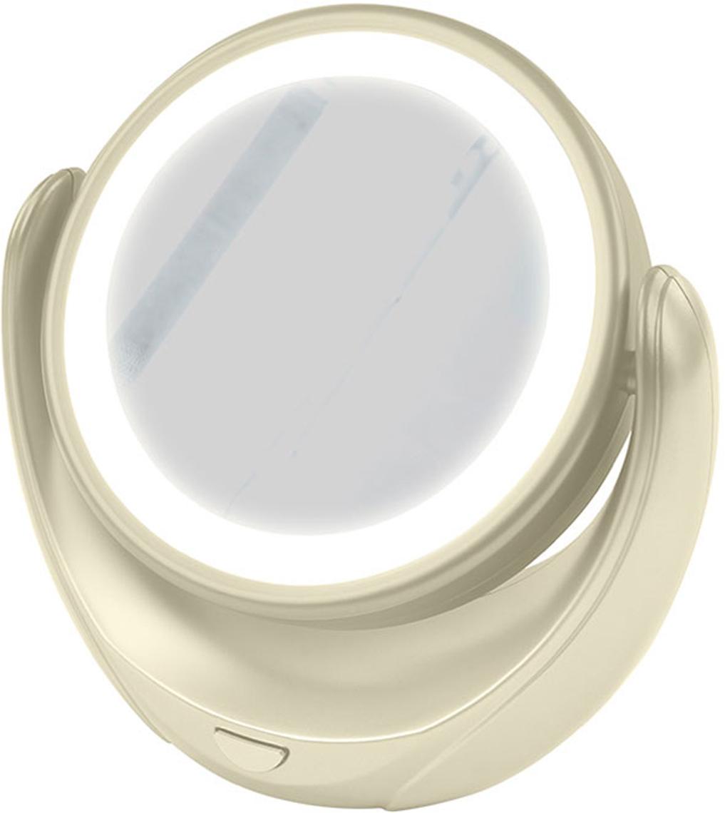 Marta MT-2653, Milky Pearl зеркало с подсветкойMT-2653Marta MT-2653 - стильное и элегантное настольное зеркало с подсветкой и пятикратным увеличением отражения одной из поверхностей. Идеально подходит для тщательного нанесения макияжа и ухода за кожей лица. Зеркало позволяет изменять угол наклона для достижения максимального удобства, а также имеет две зеркальные стороны, одна из которых обладает свойством пятикратного увеличения отражения, что особенно важно при кропотливой работе с участками лица, требующими наиболее тщательного внимания. Круговая подсветка по контуру зеркала Marta MT-2653 нормализует и выравнивает освещение, позволяя детально разглядеть все нюансы отражения. Для полноценной работы зеркала используются распространенные элементы питания типа АА на 1,5 В, одного комплекта которых хватит на длительный срок эксплуатации. Простотаиспользования и очистки, функциональность, сопровождающаяся особым комфортом, делают настольное зеркало незаменимым аксессуаром для ухода за лицом и в домашних условиях, и в путешествии.