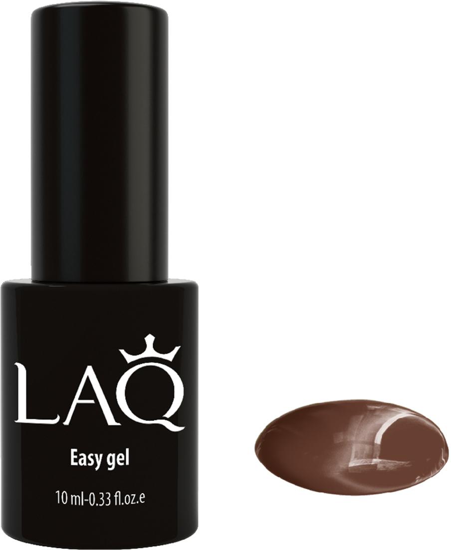 LAQ Гель-лак Easy Gel коричневый ,10 мл
