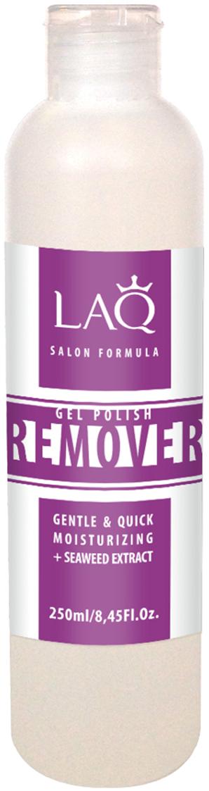 LAQ Средство для снятия гель-лака GEL POLISH REMOVER Salon Formula прозрачный , 250 мл16000Средство для снятия гель-лака. Обогащенная формула легко и мягко удаляет гель-лак. Содержит уникальный увлажняющий комплекс. Не пересушивает ногтевую пластину, придает мягкость кутикуле. Экстракт морских водорослей содержит антиоксиданты, витамины и минералы. Это настоящий увлажняющий и энергитический коктейль для ногтей и кутикулы.Как ухаживать за ногтями: советы эксперта. Статья OZON Гид