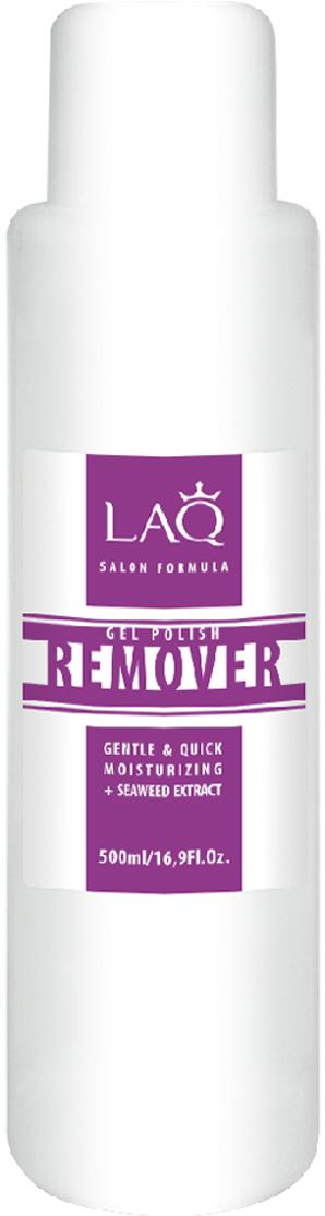 LAQ Средство для снятия гель-лака GEL POLISH REMOVER Salon Formula прозрачный , 500 мл16002Средство для снятия гель-лака. Обогащенная формула легко и мягко удаляет гель-лак. Содержит уникальный увлажняющий комплекс. Не пересушивает ногтевую пластину, придает мягкость кутикуле. Экстракт морских водорослей содержит антиоксиданты, витамины и минералы. Это настоящий увлажняющий и энергитический коктейль для ногтей и кутикулы.Как ухаживать за ногтями: советы эксперта. Статья OZON Гид