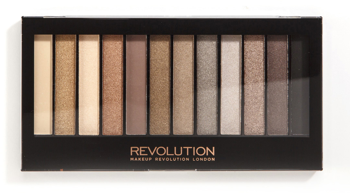 Makeup Revolution Набор теней Redemption Palette, Iconic 2, нюдовая, 14 гр11501011Must have в любой косметичке, эта палетка покорит тебя не только беспроигрышной палитрой из самых популярных оттенков теней, но и целой сокровищницей финишей - от совершенно матового до ослепительно шиммерного!