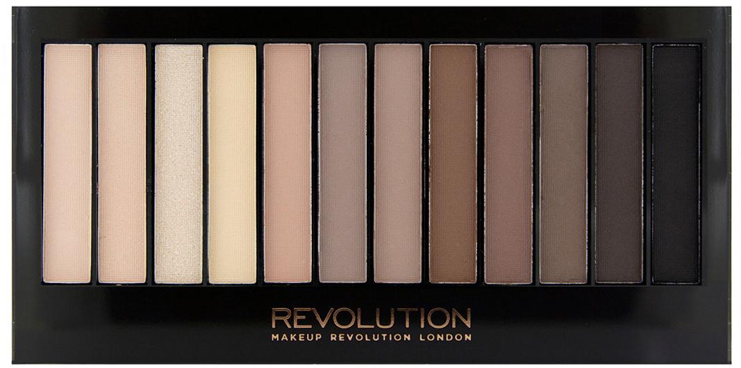 Makeup Revolution Набор теней Redemption Palette, Iconic Elements, нюдовая, 14 гр55620Must have в любой косметичке, эта палетка покорит тебя не только беспроигрышной палитрой из самых популярных оттенков теней, но и целой сокровищницей финишей - от совершенно матового до ослепительно шиммерного!