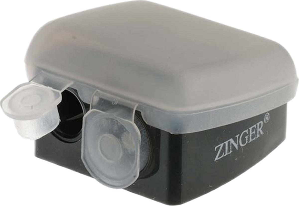 Zinger Точилка двойная zo-SH-19 двойная точилка для карандашей pupa аксессуары
