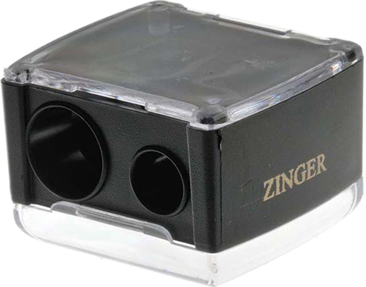Zinger Точилка двойная zo-SH-22 двойная точилка для карандашей pupa аксессуары