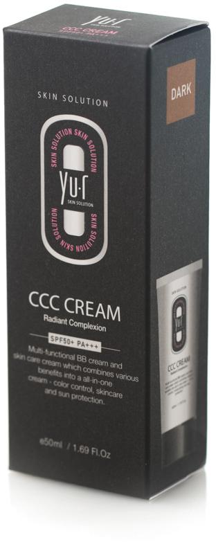Корректирующий крем Yu-r ССС Cream (dark), 50 млA17061/06Мульти-функциональный комплекс, который включает в себя тональное средство и крем для лица, способствует выравниванию цвета кожи, увлажнению и защите от ультрафиолетового излучения. ( Тон: темный)