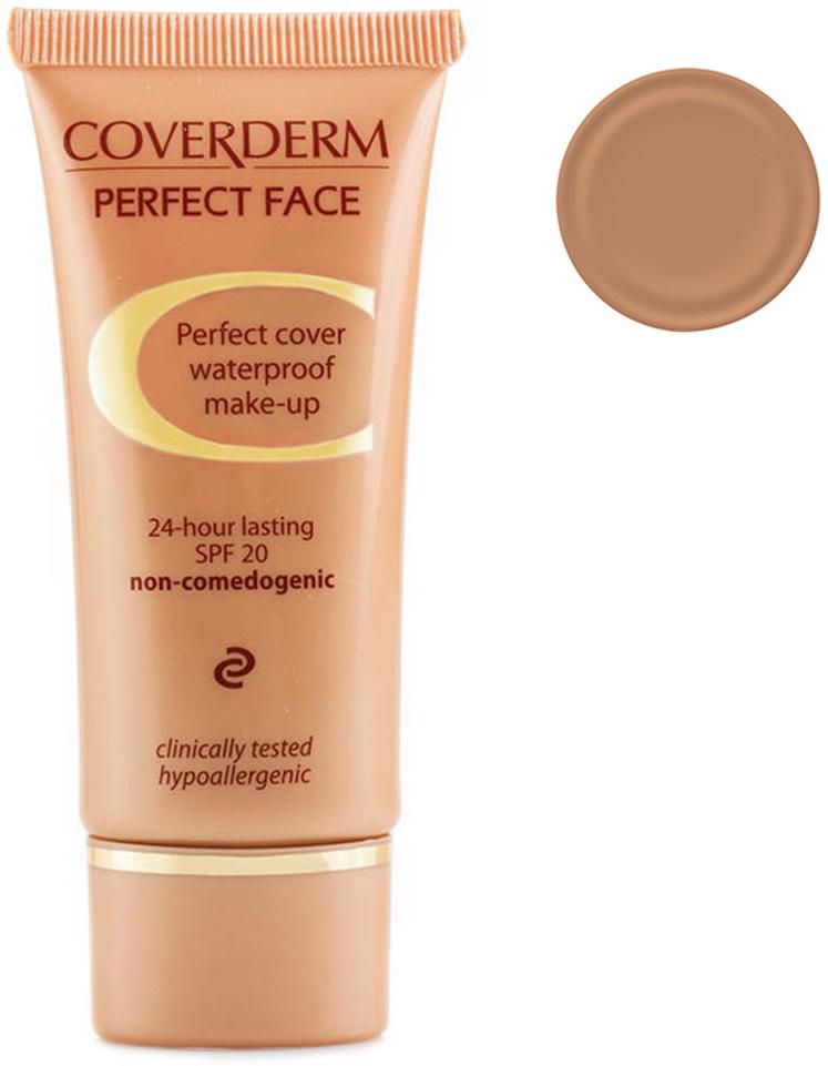 Coverderm Perfect Face Тональный крем Тон №9, Camouflage SPF 20, 30мл coverderm coverderm mascara perfect lashes тушь для ресниц