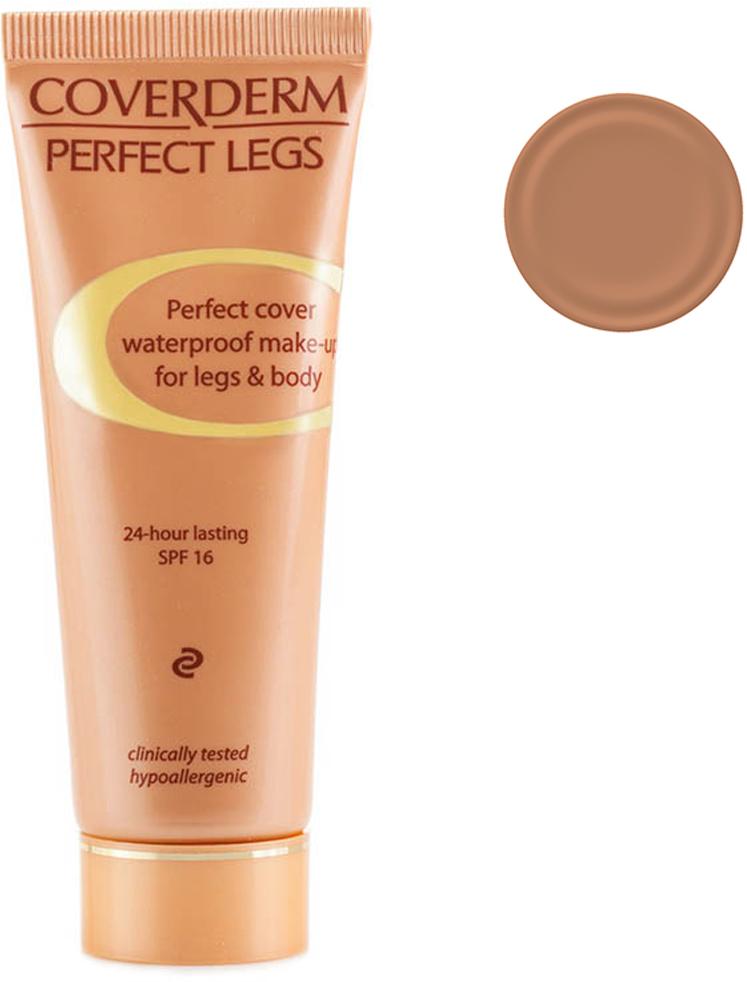 Coverderm Perfect Legs Тональный крем для ног Тон №7, Camouflage SPF 16, 50мл coverderm coverderm люминос компактная пудра