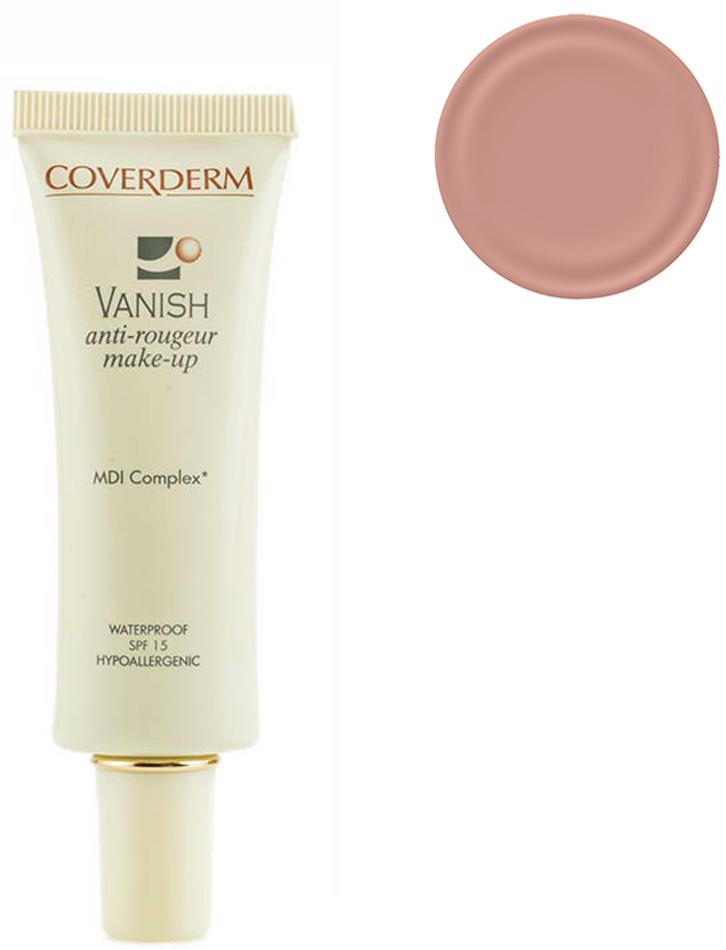 Coverderm Vanish Make-up Тональный крем для кожи с куперозом и покраснениями Colorceuticals Тон №1 SPF 15, 30млC1035.12 в 1 – уход и макияж в течение дня! Тональный крем, который превосходно маскирует все проявления купероза и покраснения кожи, одновременно с этим оказывает лечебное действие для улучшения микроциркуляции и снижения купероза. Обладает обезжиренной, водостойкой формулой. Благодаря легкой текстуре прекрасно впитывается, придает коже бархатистость. Входящие в состав крема MDI комплекс и фукоидан укрепляют сосудистую стенку и уменьшают признаки купероза и покраснений на коже. Витамин Е и изофланы оказывают дополнительный антивозрастной эффект, крем успокаивает и смягчает кожу. SPF 15 уменьшает агрессивное воздействие ультрафиолетовых лучей, повреждающих мелкие капилляры кожи.