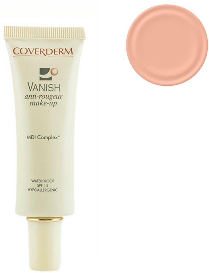 Coverderm Vanish Make-up Тональный крем для кожи с куперозом и покраснениями Colorceuticals Тон №11 SPF 15, 30млC1035.112 в 1 – уход и макияж в течение дня! Тональный крем, который превосходно маскирует все проявления купероза и покраснения кожи, одновременно с этим оказывает лечебное действие для улучшения микроциркуляции и снижения купероза. Обладает обезжиренной, водостойкой формулой. Благодаря легкой текстуре прекрасно впитывается, придает коже бархатистость. Входящие в состав крема MDI комплекс и фукоидан укрепляют сосудистую стенку и уменьшают признаки купероза и покраснений на коже. Витамин Е и изофланы оказывают дополнительный антивозрастной эффект, крем успокаивает и смягчает кожу. SPF 15 уменьшает агрессивное воздействие ультрафиолетовых лучей, повреждающих мелкие капилляры кожи.